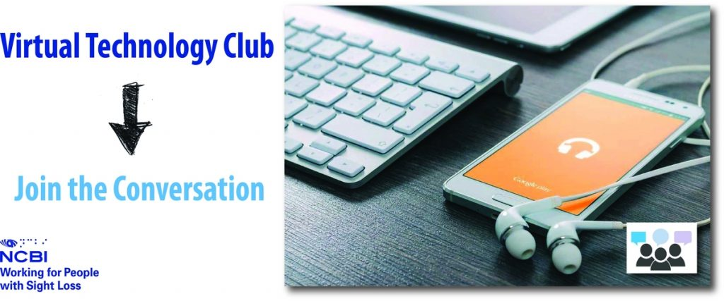 Announcing NCBI's First ever Virtual Technology Club on Thursday April 6th