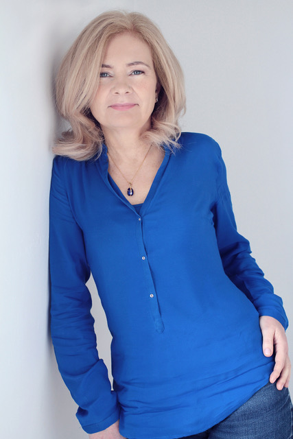 Photo is of Author Judi Curtin