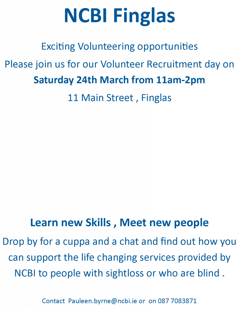 Volunteer Recruitment Day