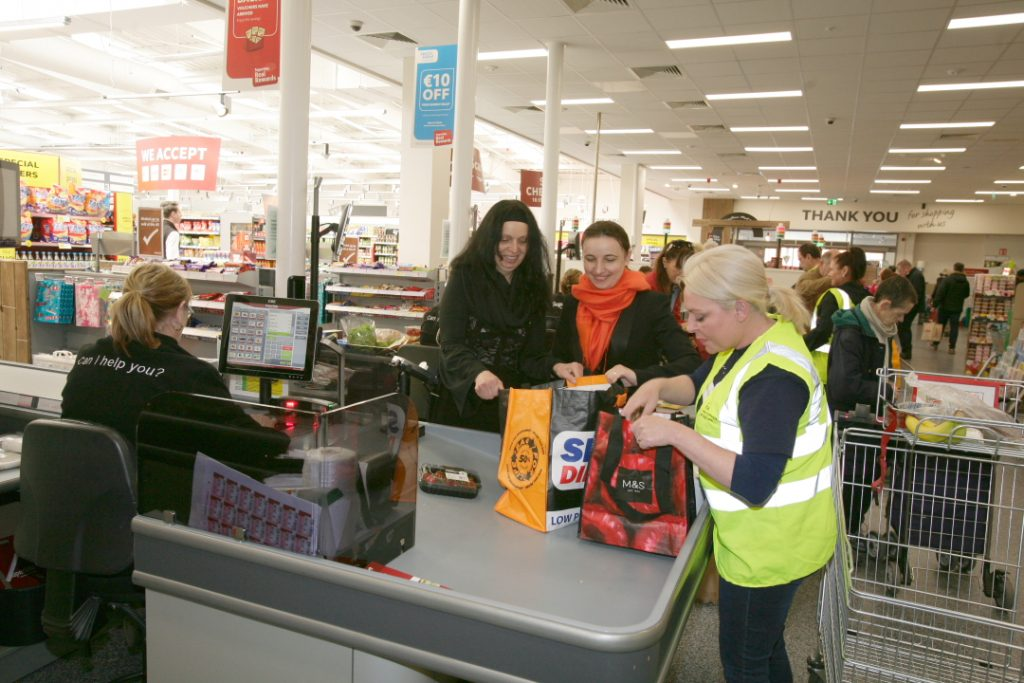 NCBI's National Tesco Bag Pack – A Huge Success