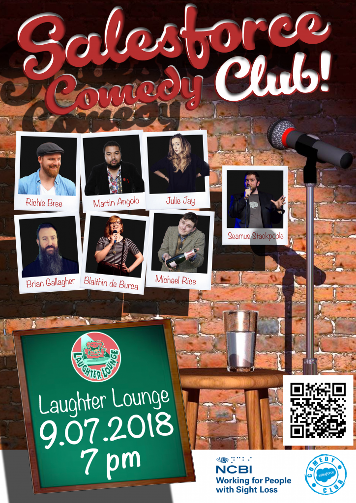 Have a Laugh and Raise Funds for the NCBI!