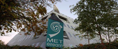 Image of the Met Eireann building in Glasnevin