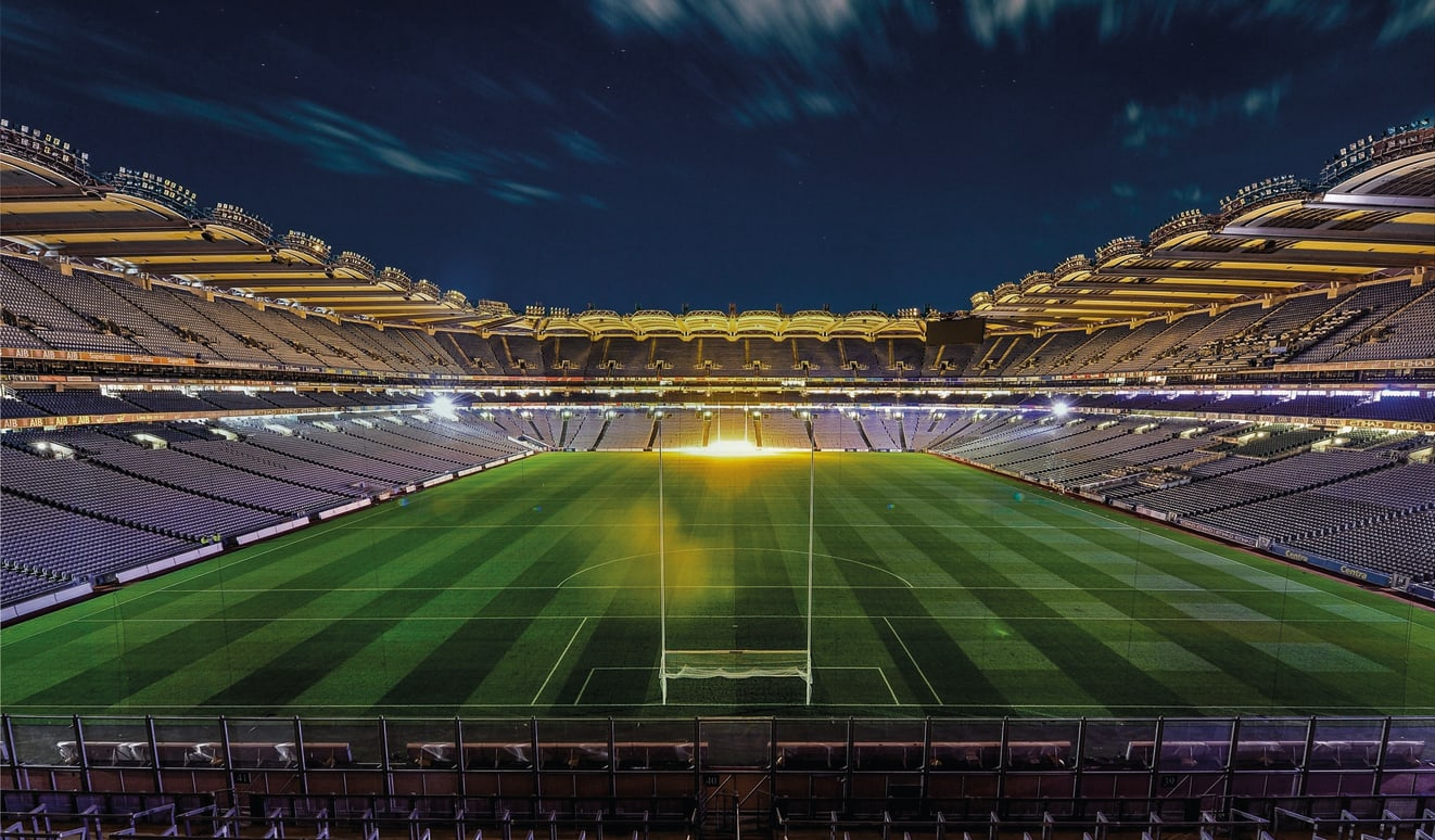 Access for All Banner - photograph of Croke Park