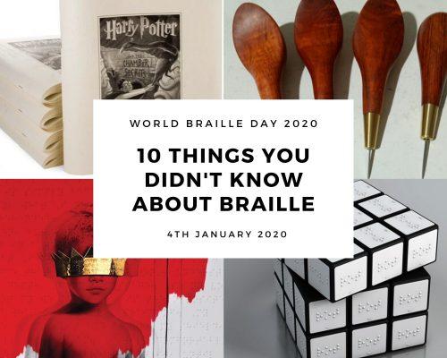 World Braille Day 2020