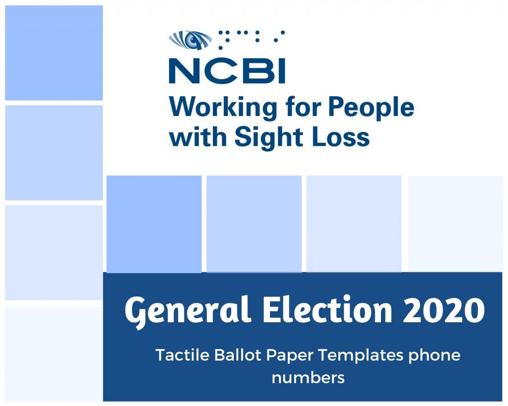 GE 2020 – All you need to know about the Tactile Ballot Paper Template with free phone constituency numbers.