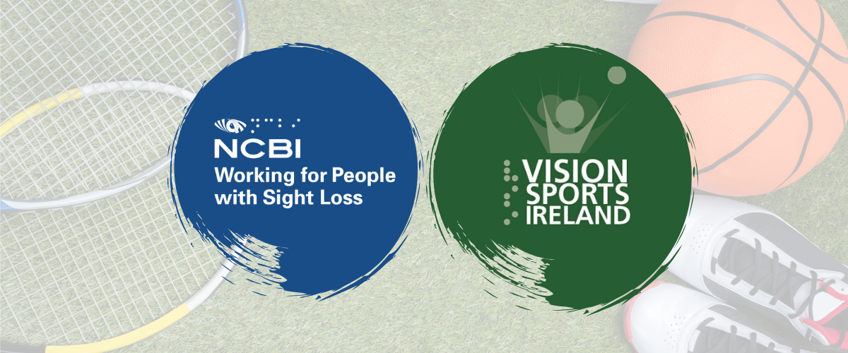 NCBI logo and Vision sports logo