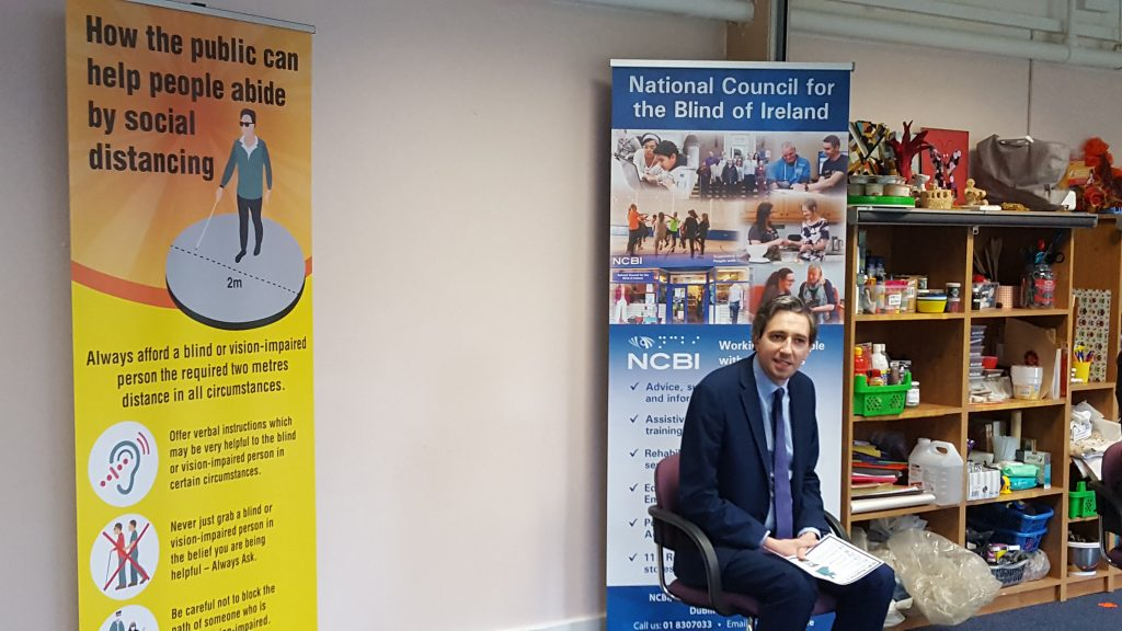NCBI welcomes Minister Harris to Iona Resource Centre