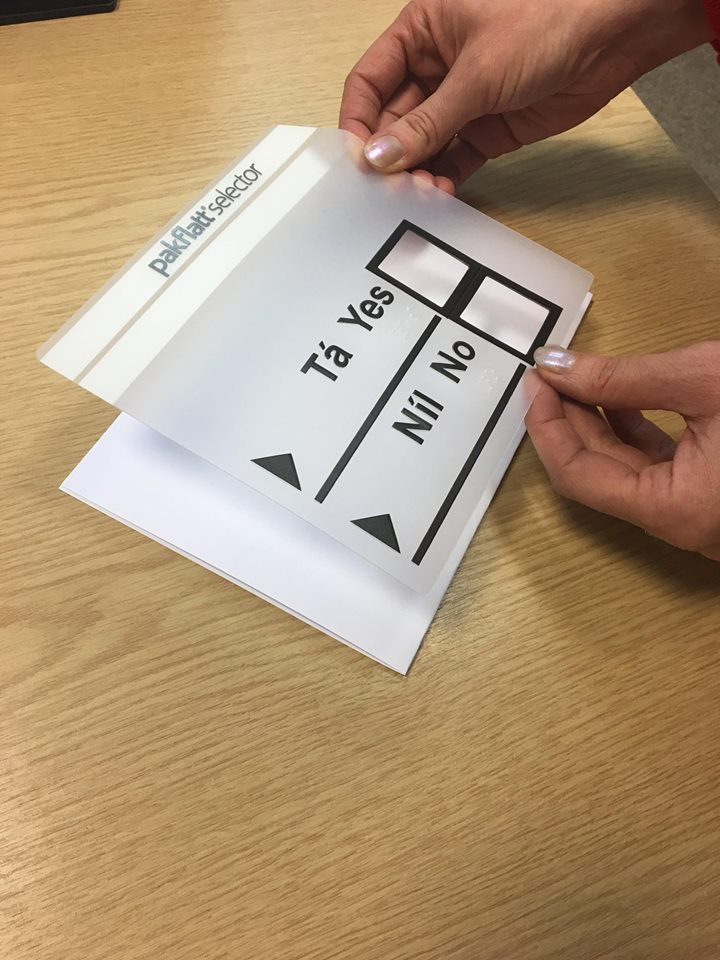 Image of referendum template