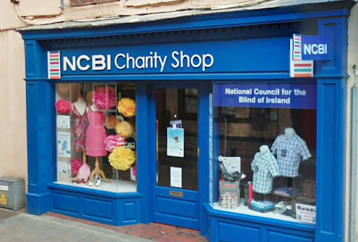 Shop front of NCBI store
