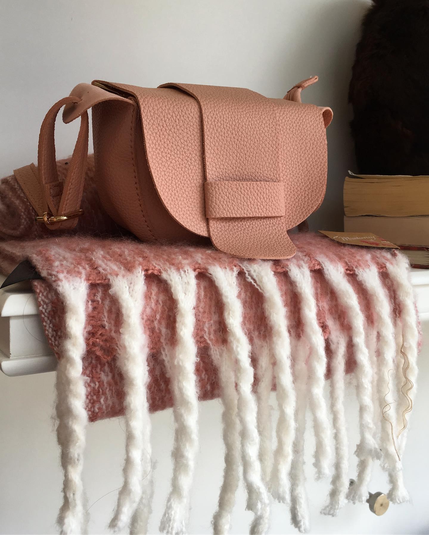 beautiful pink purse