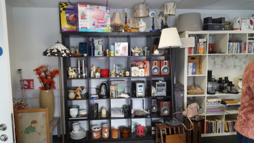 Photo of bric a brac items