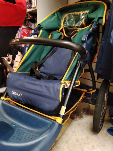 Photo of a baby stroller