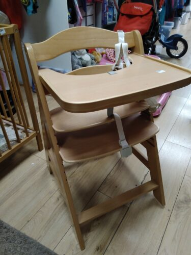 Photo of a high chair for babies
