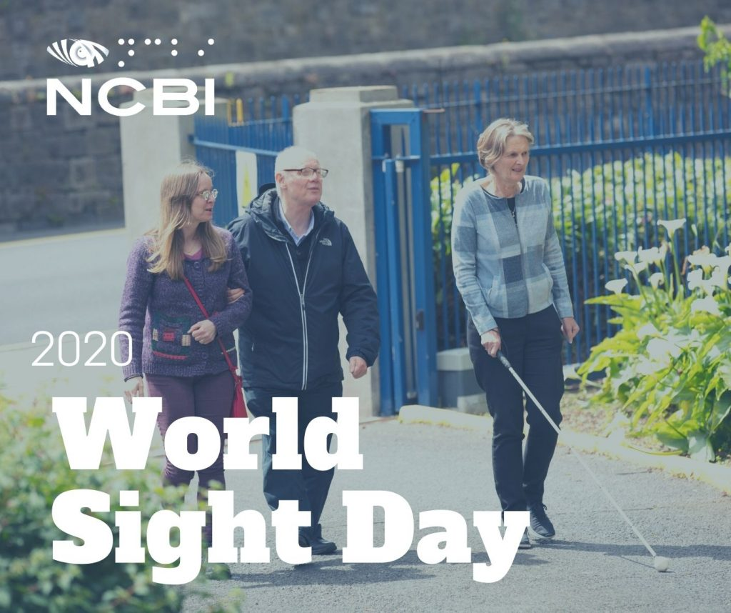 NCBI marks World Sight Day 2020 by highlighting the many serious challenges for the vision impaired during COVID 19 Pandemic