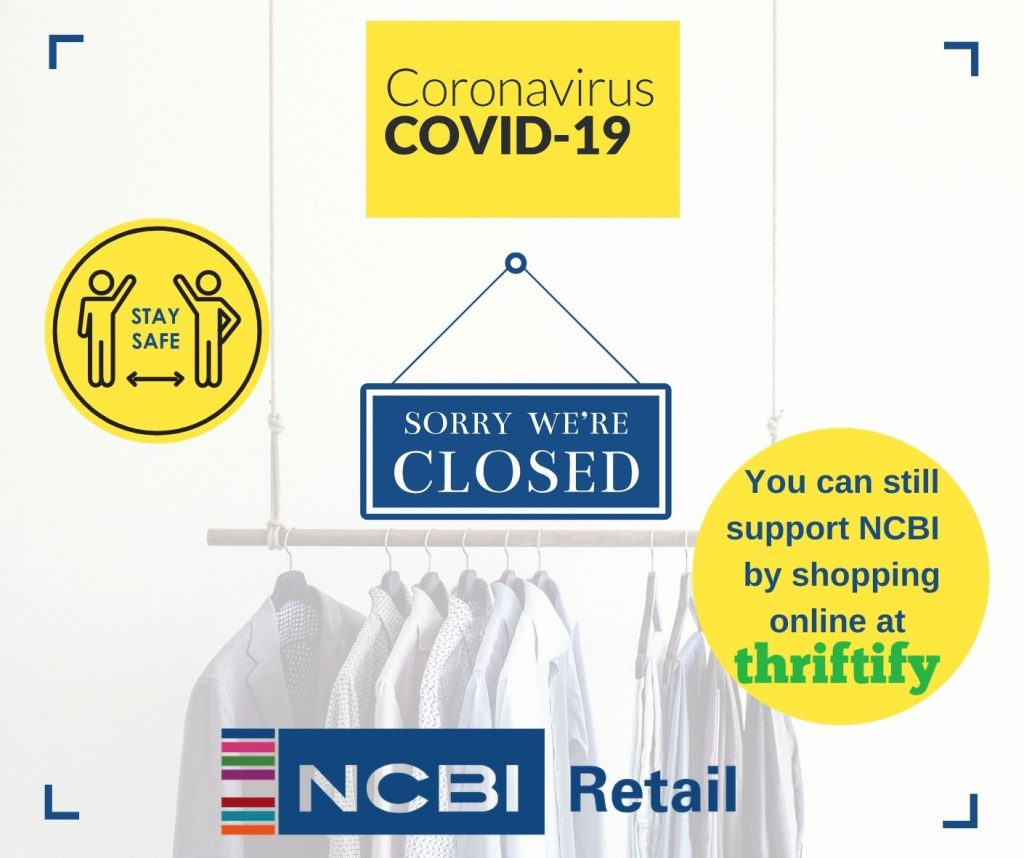 NCBI set to lose over €1 million in funding for services due closure of its 114 shops nationwide under level 5 Covid19 restrictions