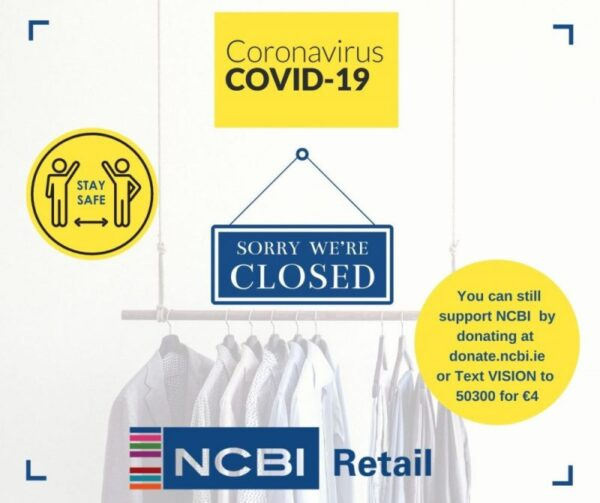 Sorry we are closed, you can still support NCBI by donating at donate.ncbi.ie or text VSION to 50300 for €4