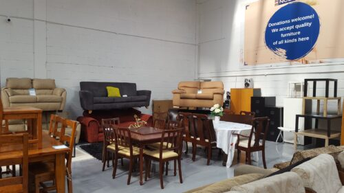 Photo of set of table and sofas