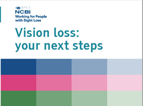 Vision loss next steps cover