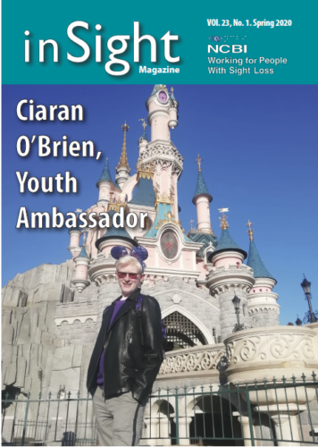 Insight Magazine cover - Ciaram O'Brian Youth Ambassador