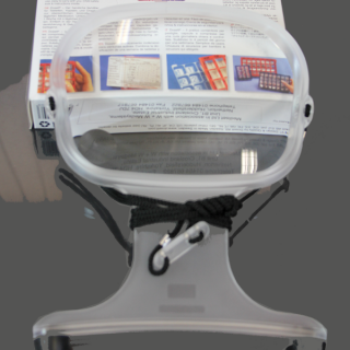 Large Hands-Free Magnifier 2X