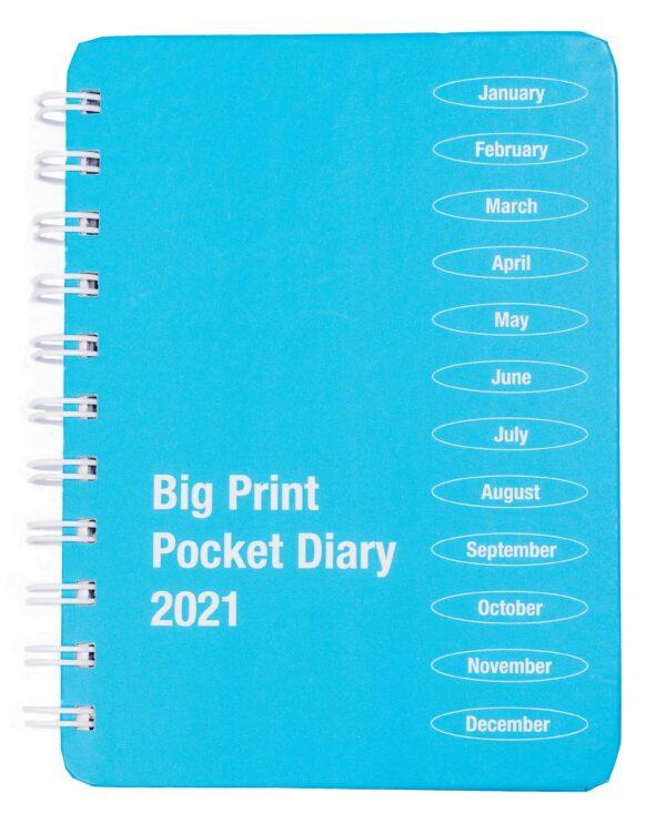 Large Print Desk Diary