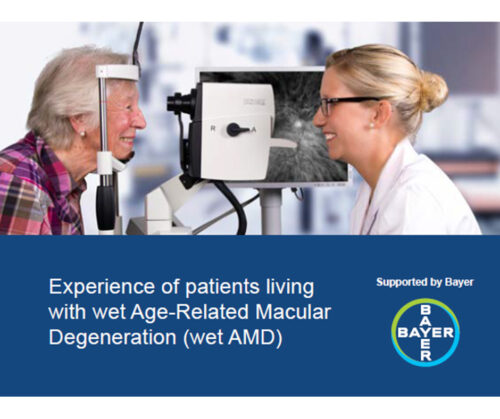 Photo: Patient experience research study: Experience of patients living with wet AMD