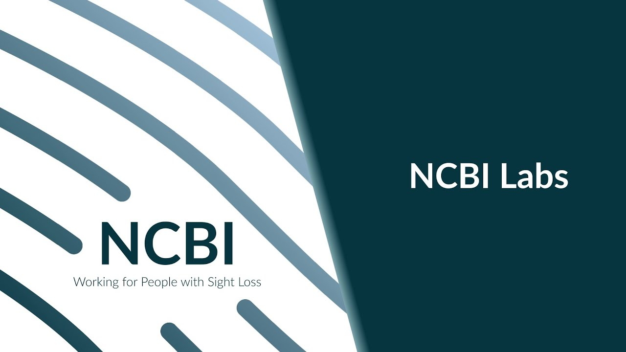 NCBI logo next to text