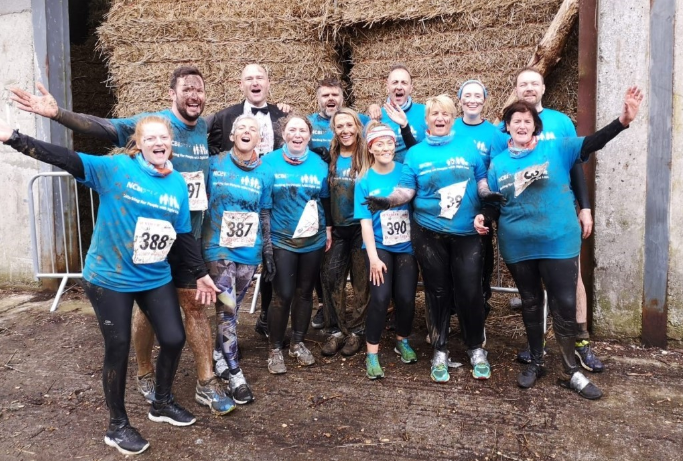 Photo of a group at Run a muck challenge