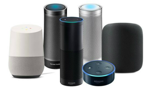 Photo of smart speakers