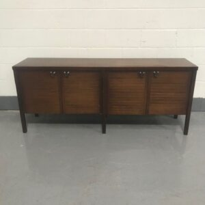 Dark Wooden Console Unit