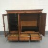 Broyhill TV Cabinet with doors open