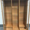 Large Wooden Display Unit with doors open