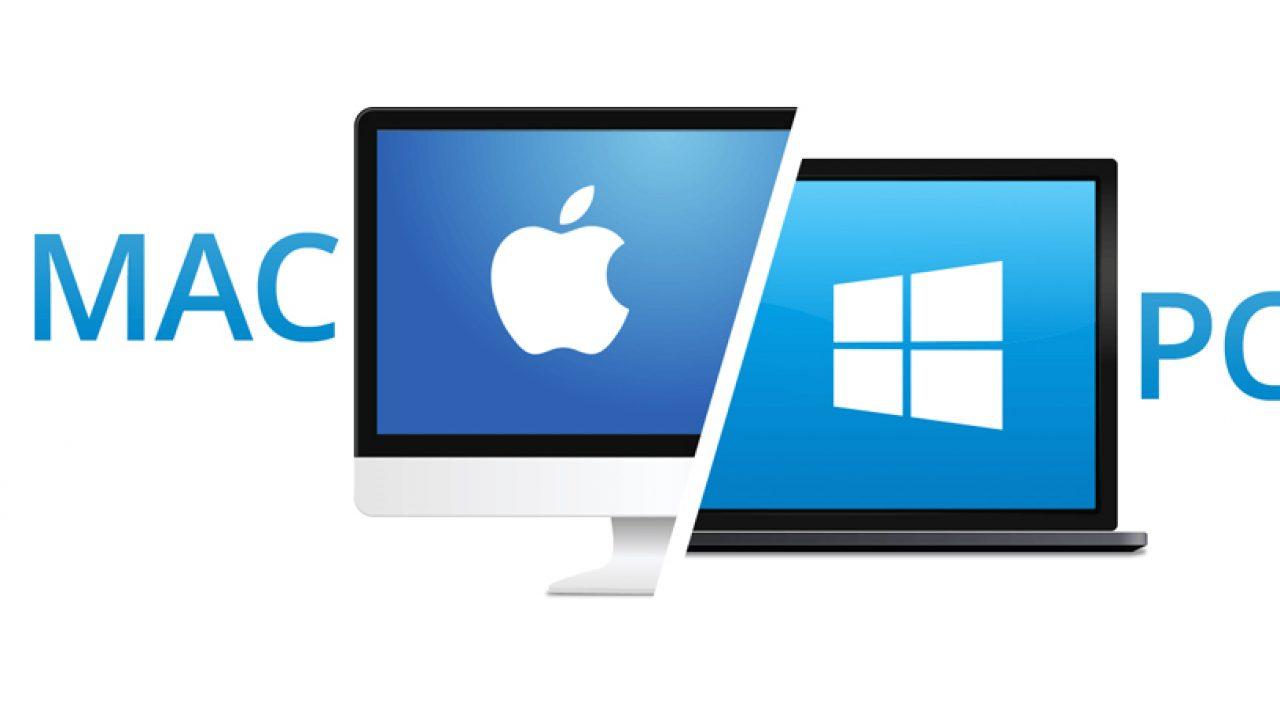 Mac & PC screens