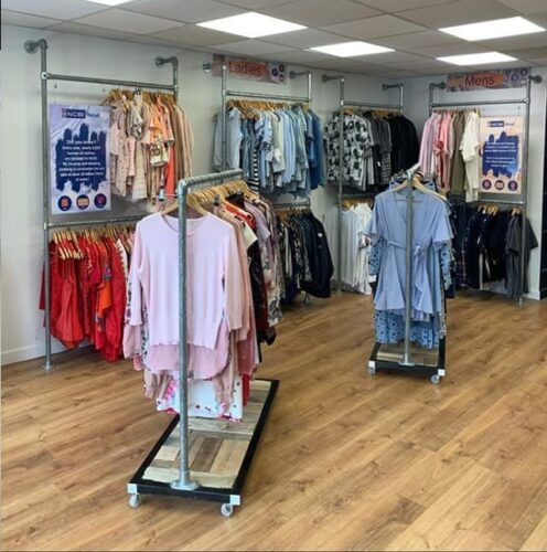 Photo of our charity shop in inchicore