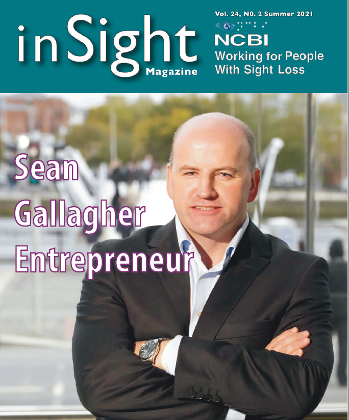 Insight Magazine Front cover with Sean Gallagher