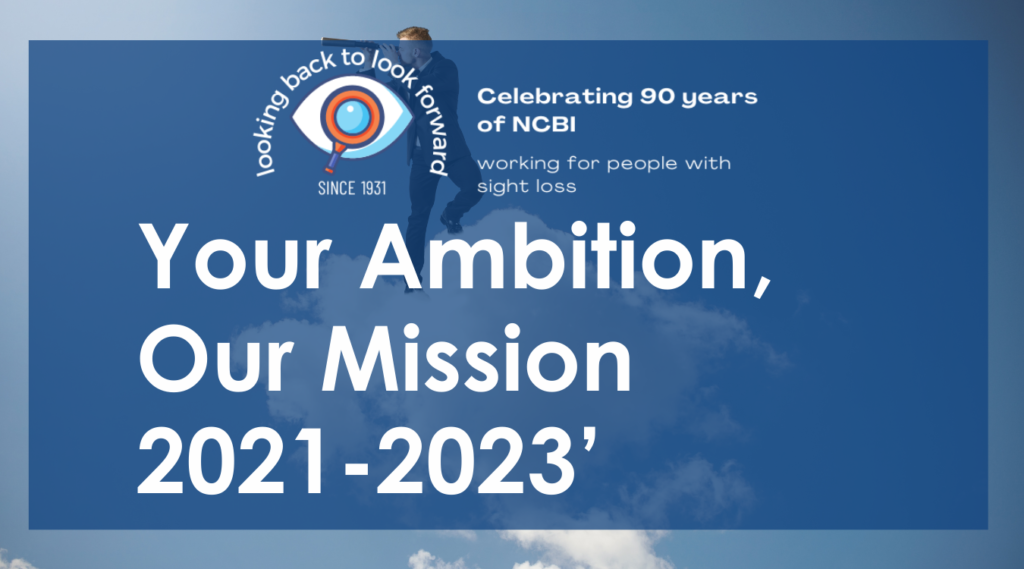 Your ambition our mission with NCBI 90th year celebration logo