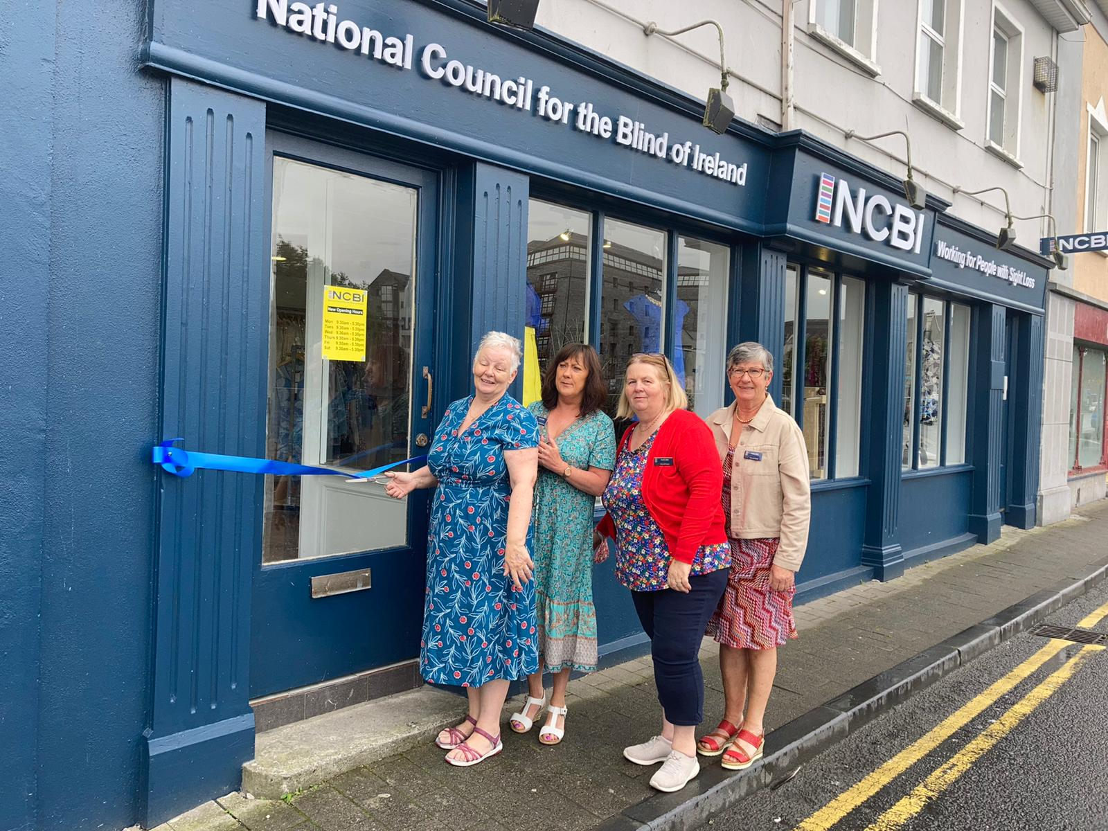 Ennis shop with shop manager Mairead Lavery and volunteers