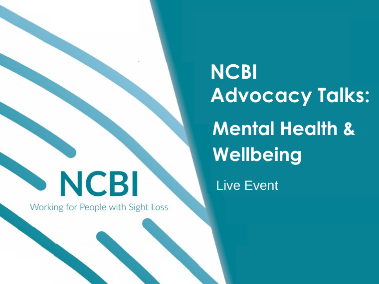 NCBI Advocacy Talks: Mental Health and Wellbeing Live event