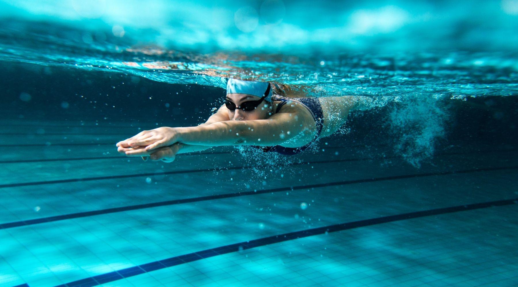 VI swimming