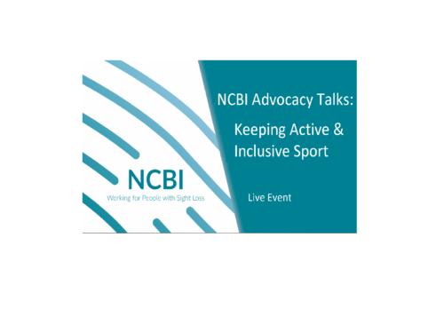NCBI Advocacy Talks: Keeping Active & Inclusive Sport